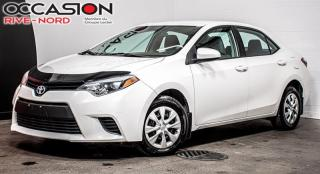 Used 2016 Toyota Corolla CE A/C+BLUETOOTH+CAM.RECUL for sale in Boisbriand, QC