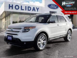 Used 2015 Ford Explorer LIMITED for sale in Peterborough, ON