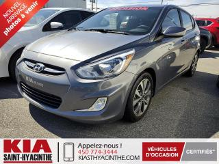 Used 2017 Hyundai Accent SE ** TOIT OUVRANT / SIÈGES CHAUFFANTS for sale in St-Hyacinthe, QC