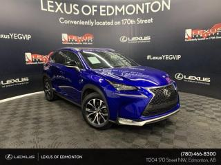 Used 2017 Lexus NX 200t F SPORT SERIES 3 for sale in Edmonton, AB