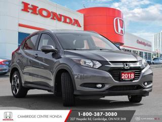 Used 2018 Honda HR-V EX-L PUSH BUTTON START | GPS NAVIGATION | REARVIEW CAMERA for sale in Cambridge, ON