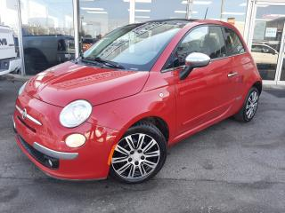Used 2012 Fiat 500 ~NO ACCIDENTS~ CERTIFIED~ 3 YEAR WARRANTY for sale in Oakville, ON