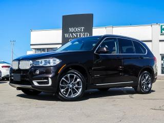 Used 2018 BMW X5 xDRIVE|NAV|HUD|BLIND|PANO|TERRA DAKOTA for sale in Kitchener, ON