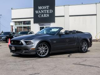 Used 2014 Ford Mustang CONVERTABLE|5L V8 ENGINE|LEATHER|SHAKER SOUND|19