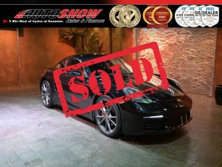 Used 2018 Porsche 718 Cayman Sport Exhaust, Bose, Htd Steering, Htd Lthr !! for sale in Winnipeg, MB