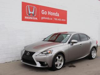 Used 2014 Lexus IS 250 AWD, LEATHER, SUNROOF, HEATED SEATS, NO ACCIDENTS! for sale in Edmonton, AB