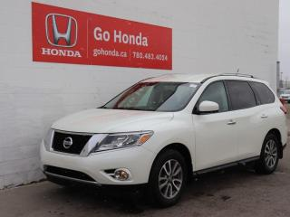 Used 2016 Nissan Pathfinder 4WD, 7 PASSENGER, NO ACCIDENTS! for sale in Edmonton, AB