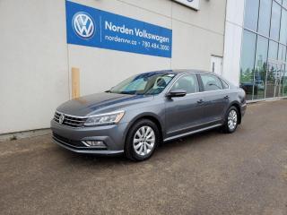 Used 2017 Volkswagen Passat COMFORTLINE - TECH / SPORT PKG - SUNROOF / NAVI for sale in Edmonton, AB