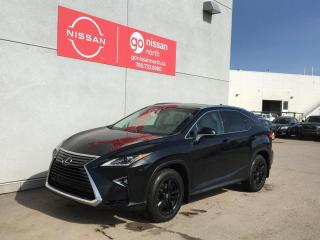 Used 2017 Lexus RX 350 AWD/PANO ROOF/LEATHER/POWER LIFTGATE/POWER SEATS/NAVI for sale in Edmonton, AB