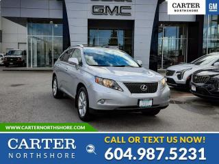 Used 2010 Lexus RX 350 NAVIGATION - MOONROOF - ENTERTOYMENT SYS for sale in North Vancouver, BC