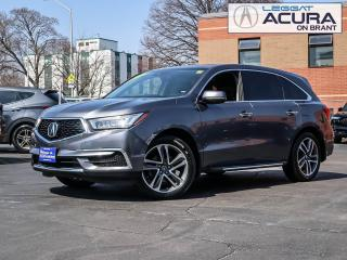 Used 2018 Acura MDX Technology Package Acura Certified, Clean Car Fax! for sale in Burlington, ON