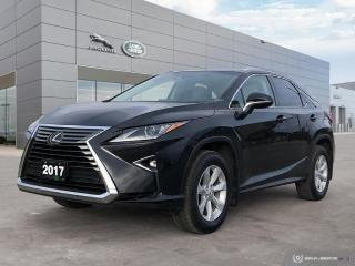 Used 2017 Lexus RX 350 Base AWD Awesome Style and Color for sale in Winnipeg, MB