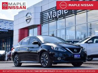 Used 2017 Nissan Sentra SR Turbo Bluetooth Rear View Camera Heated Seats for sale in Maple, ON