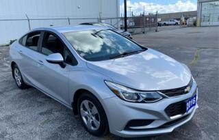 Used 2016 Chevrolet Cruze Accident Free| Back Up Cam|FINANCING AVAILABLE for sale in Mississauga, ON