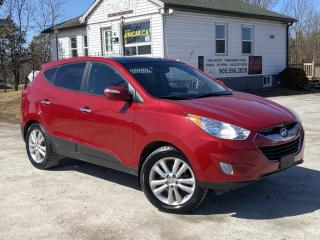 Used 2013 Hyundai Tucson Limited AWD Panoroof Bluetooth Leather Power Group for sale in Sutton, ON