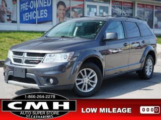 Used 2017 Dodge Journey SXT  V6 NAV CAM DVD ROOF P/SEAT HTD-SEATS for sale in St. Catharines, ON