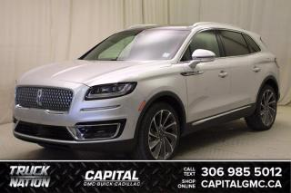 Used 2019 Lincoln Nautilus Reserve AWD*LEATHER*SUNROOF*NAV* for sale in Regina, SK