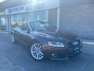 Used 2011 Audi A5 2.0L Premium Plus-Navi-Camera-Loaeded for sale in Toronto, ON