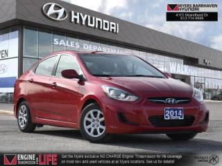 Used 2014 Hyundai Accent GL  - Bluetooth -  Heated Seats - $83 B/W for sale in Nepean, ON