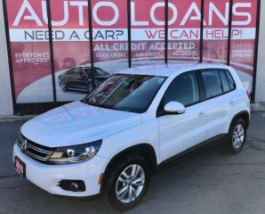 Used 2015 Volkswagen Tiguan COMFORTLINE-ALL CREDIT ACCEPTED for sale in Toronto, ON