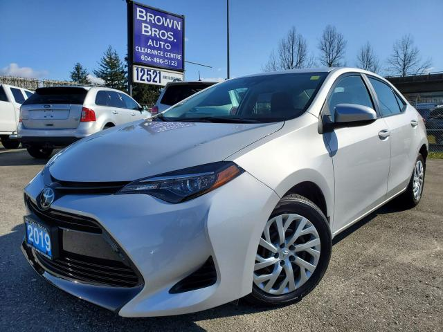 2019 Toyota Corolla LE, LOCAL, NO ACCIDENTS, 1 OWNER