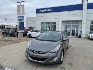 Used 2013 Hyundai Elantra GLS MANUAL/SUNROOF/HEATEDSEATS/BLUETOOTH for sale in Edmonton, AB
