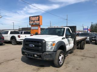 Used 2011 Ford F-550 FLATDECK*6.7L DIESEL*TRANSMISSION ISSUE*AS IS for sale in London, ON