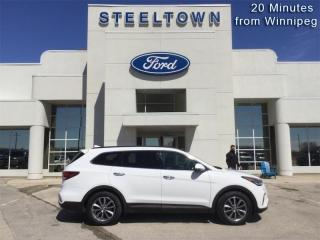 Used 2017 Hyundai Santa Fe XL Limited  - Leather Seats for sale in Selkirk, MB