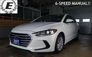 Used 2017 Hyundai Elantra L  6-SPEED MANUAL for sale in Barrie, ON