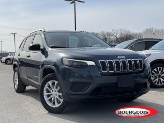 Used 2020 Jeep Cherokee Sport HEATED SEATS, REVERSE CAMERA for sale in Midland, ON