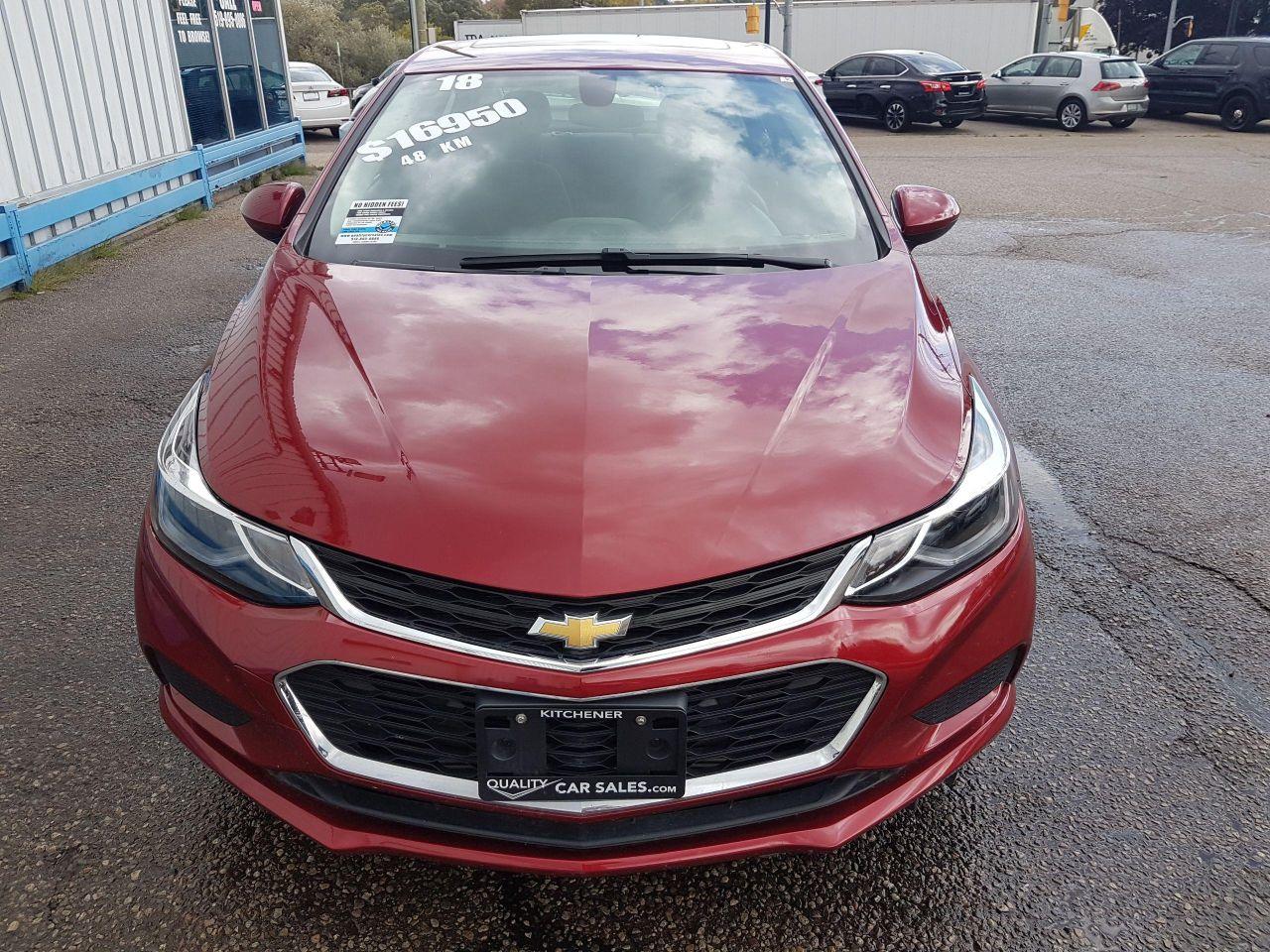 2018 Chevrolet Cruze