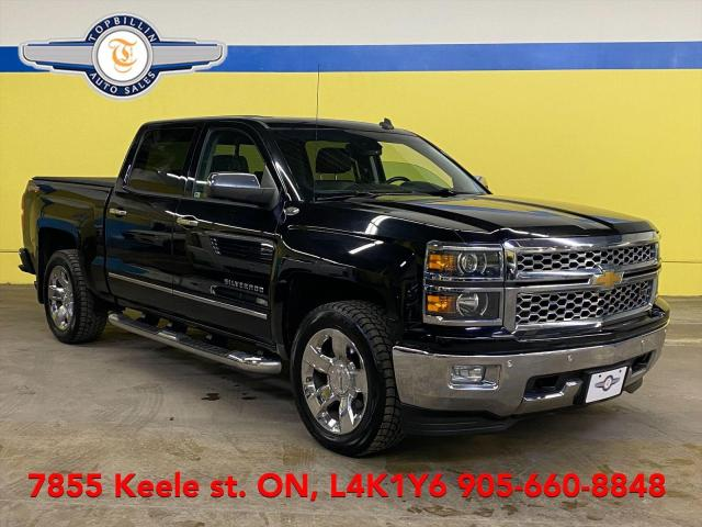 2014 Chevrolet Silverado 1500 LTZ, Navi, Leather, Roof, Keep Lane & more