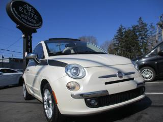 Used 2012 Fiat 500 2dr Conv Lounge for sale in Burlington, ON