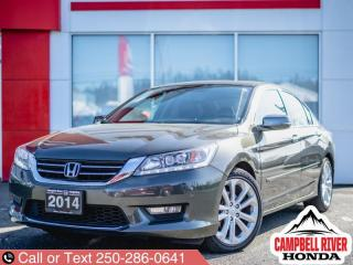 Used 2014 Honda Accord Sedan Touring  - Navigation for sale in Campbell River, BC