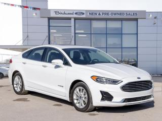 Used 2019 Ford Fusion Hybrid SEL NAV | ROOF | BLIS | ADAPT CRUISE for sale in Winnipeg, MB