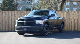 Used 2017 RAM 1500 2WD Quad Cab 140.5 ST - LEATHER SEATS! for sale in Victoria, BC