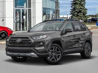 New 2021 Toyota RAV4 Trail features two tone paint for sale in Winnipeg, MB