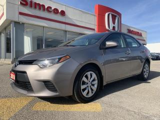 Used 2014 Toyota Corolla LE for sale in Simcoe, ON