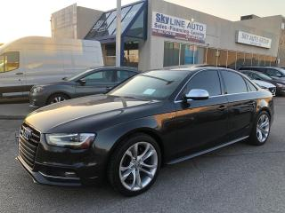 Used 2013 Audi S4 3.0T Premium NAVIGATION|CAMERA|SUNROOF|LEATHER|ALLOYS for sale in Concord, ON