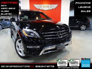 Used 2014 Mercedes-Benz ML-Class BLUETEC AMG | CERTIFIED | FINANCE | 9055478778 for sale in Oakville, ON