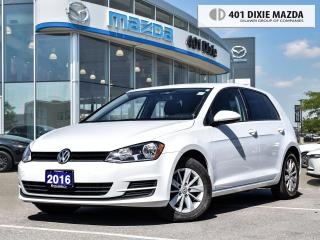 Used 2016 Volkswagen Golf FINANCE AVAILABLE| NO ACCIDENTS| COME WITH WINTER for sale in Mississauga, ON