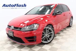 Used 2017 Volkswagen Golf R DSG 4MOTION *292hp! *TECH-PKG *GPS/CAMERA for sale in Saint-Hubert, QC