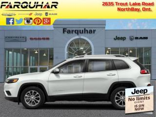 New 2021 Jeep Cherokee North for sale in North Bay, ON
