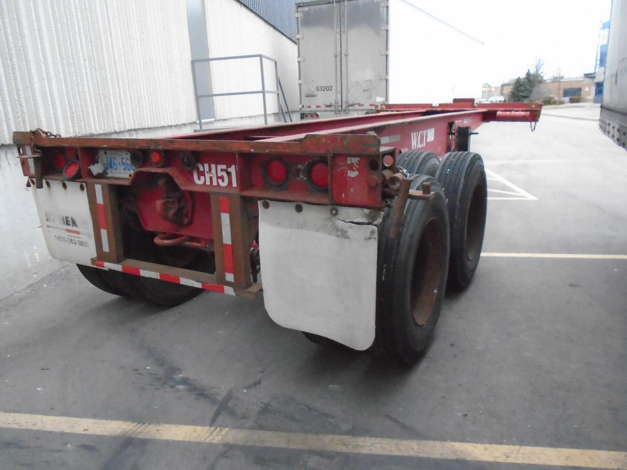 2007 UTILITY 20 FOOT