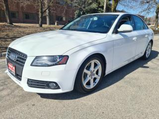Used 2009 Audi A4 4dr Sdn 2.0T Quattro | GPS Navigation | Back-Up Cam for sale in Mississauga, ON