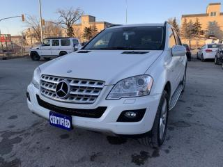 Used 2009 Mercedes-Benz ML-Class 4MATIC 4dr 3.0L BlueTEC for sale in Winnipeg, MB