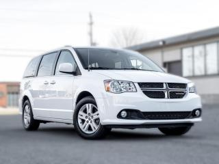 Used 2019 Dodge Grand Caravan Crew |NAV |BACKUP|LEATHER|POWER DOORS |DVD for sale in North York, ON