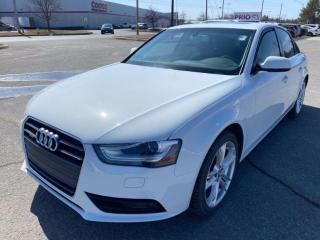 Used 2013 Audi A4 2.0T Premium Sedan quattro for sale in Ottawa, ON