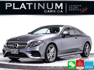 Used 2018 Mercedes-Benz E-Class E400 4MATIC, COUPE, PANO, CAM, HEATED, BLIND SPOT for sale in Toronto, ON