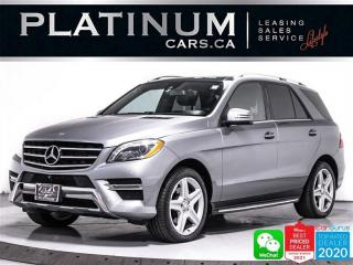 Used 2015 Mercedes-Benz ML-Class ML350 BlueTEC, DIESEL, AWD, SUNROOF, 360CAM,HEATED for sale in Toronto, ON